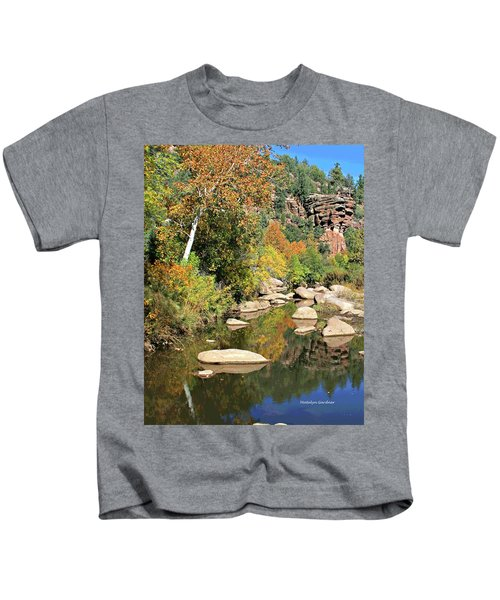 East Verde Fall Crossing Kids T-Shirt