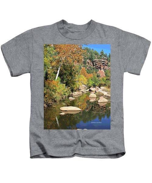 East Verde Fall Crossing Kids T-Shirt