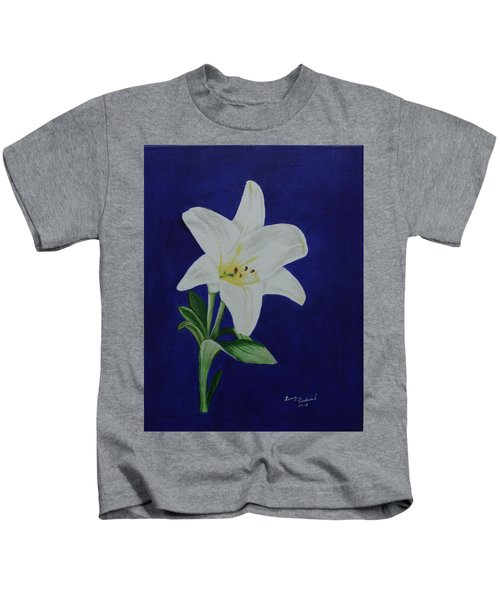 Easter Lily Kids T-Shirt