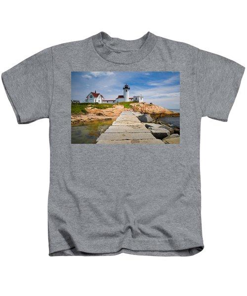 Eastern Point Lighthouse Kids T-Shirt
