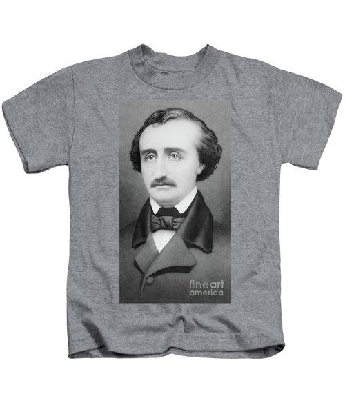 Edgar Allan Poe Kids T-Shirt