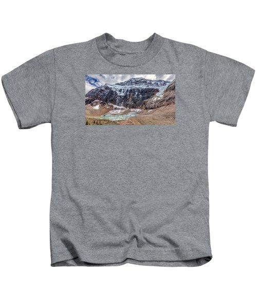 Edith Cavell Landscape Kids T-Shirt