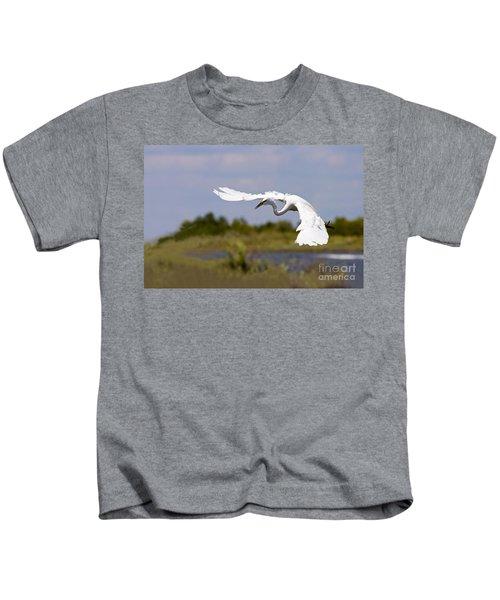 Egret Ballet Kids T-Shirt