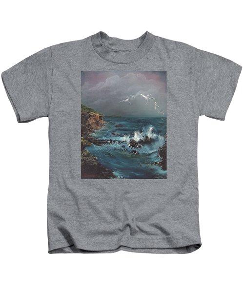Electric Sky Kids T-Shirt