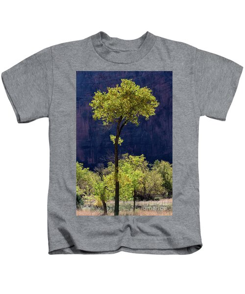 Elegance In The Park Utah Adventure Landscape Photography By Kaylyn Franks Kids T-Shirt
