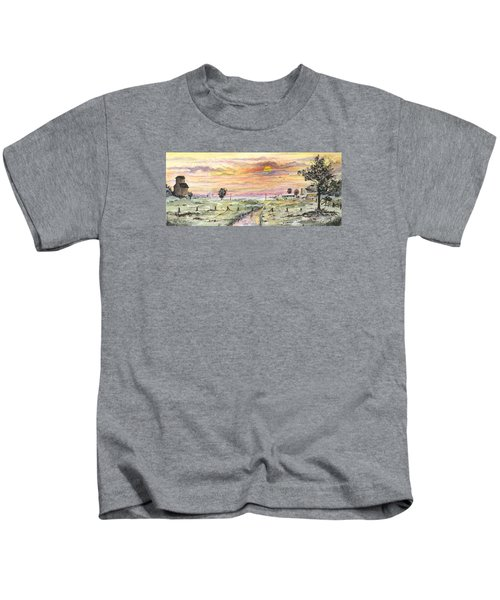 Elevator In The Sunset Kids T-Shirt