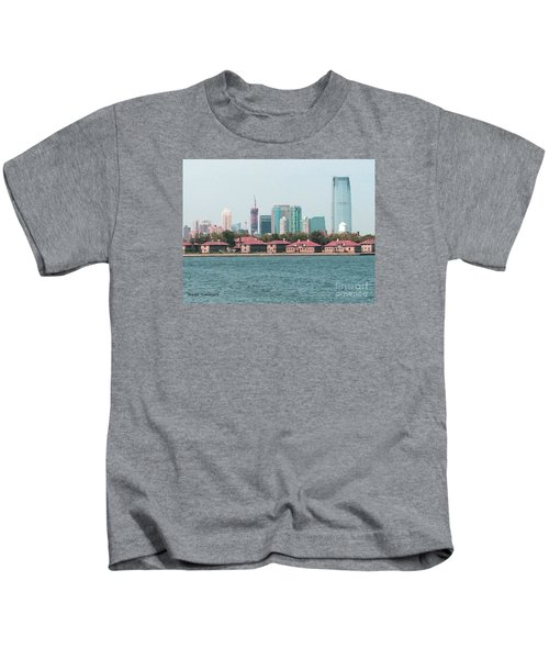 Ellis Island And Nyc Kids T-Shirt