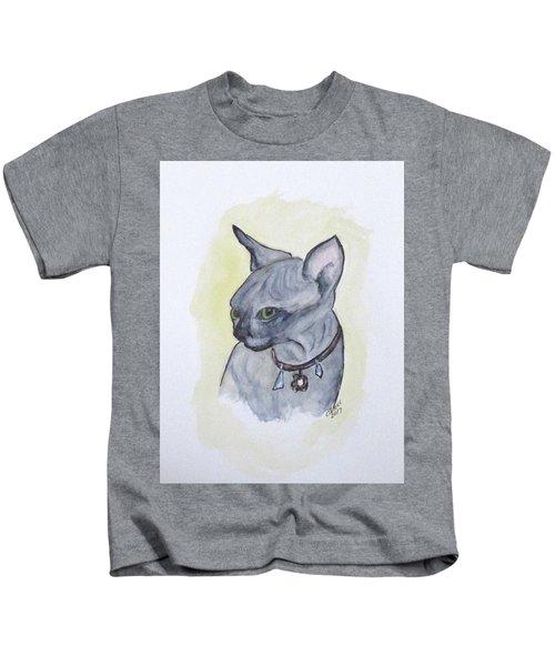 Else The Sphynx Kitten Kids T-Shirt