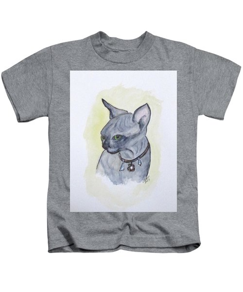 Else The Sphynx Kitten Kids T-Shirt