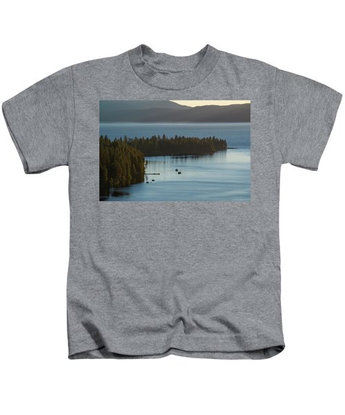 Emerald Bay Channel Kids T-Shirt