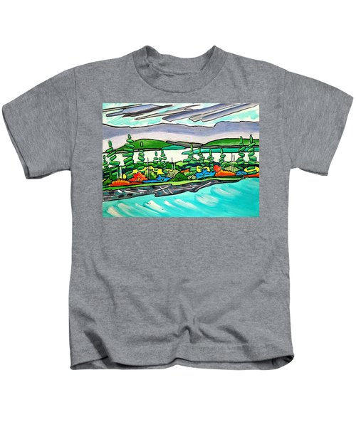Emerald Sea Islands Kids T-Shirt