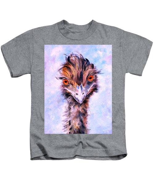 Emu Eyes Kids T-Shirt