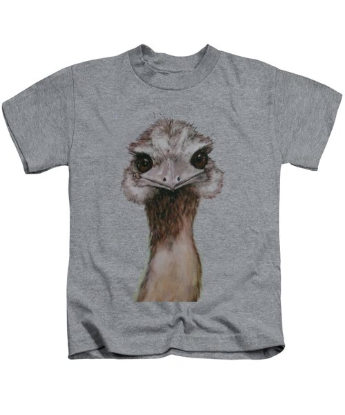 Emu Selfie Kids T-Shirt