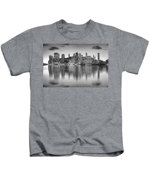 Enchanted City Kids T-Shirt by Az Jackson