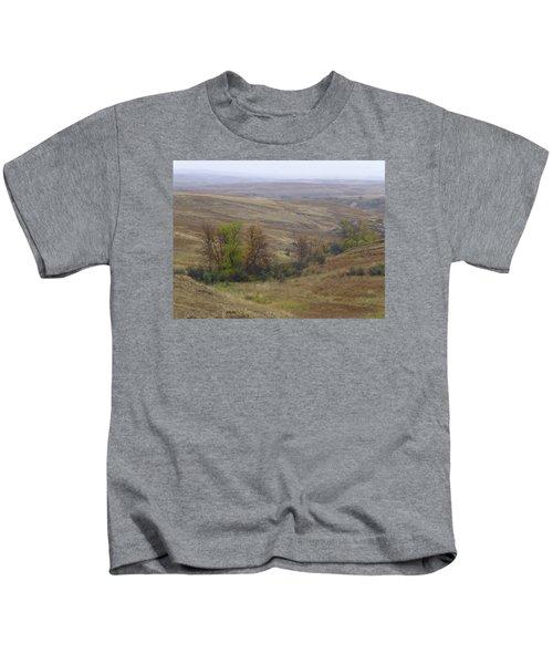 Enchantment Of The September Grasslands Kids T-Shirt
