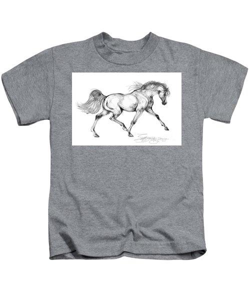 Endurance Horse Kids T-Shirt
