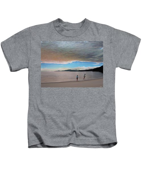 English Bay Vancouver Kids T-Shirt