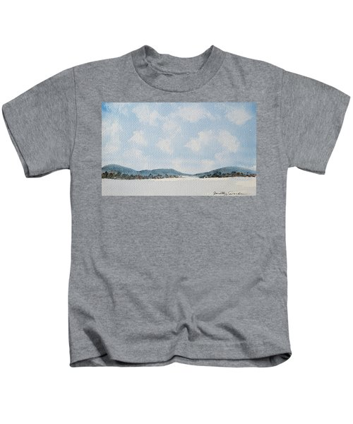 Entrance To Moulters Lagoon From Bathurst Harbour Kids T-Shirt