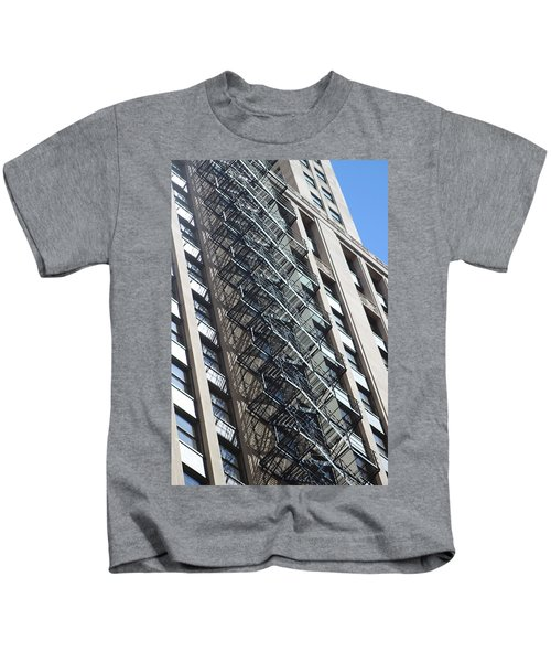 Escaping A Chicago Brownstone Kids T-Shirt