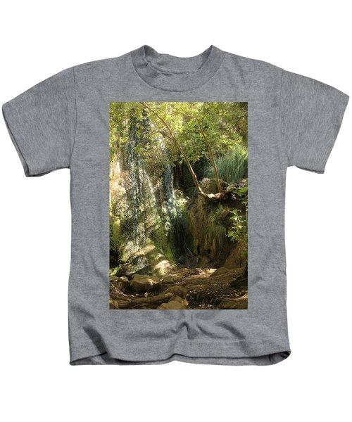 Escondido Falls In May Kids T-Shirt