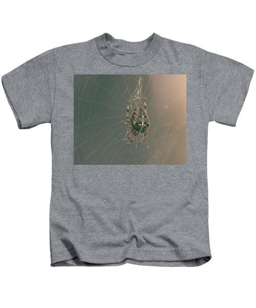 European Garden Spider B Kids T-Shirt