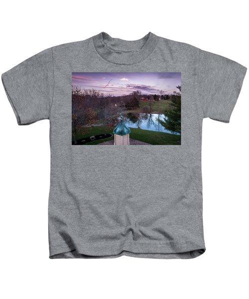 Evening Dove Kids T-Shirt