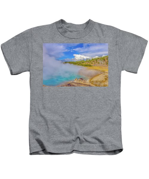 Excelsior Geyser Crater Yellowstone Kids T-Shirt