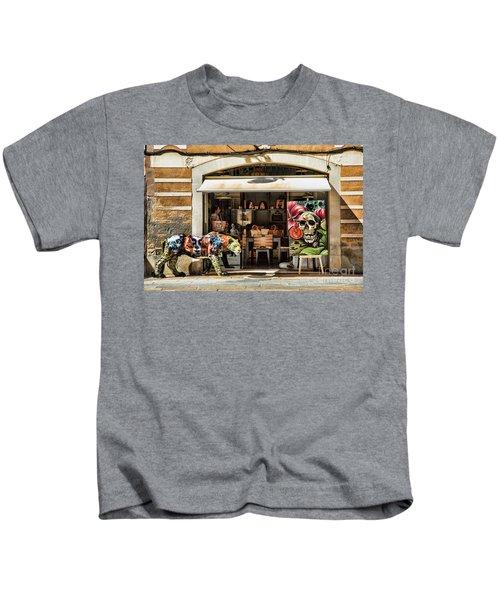 Exotic Store Barcelona La Rambia  Kids T-Shirt