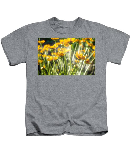 Explosion Of Yellow Kids T-Shirt