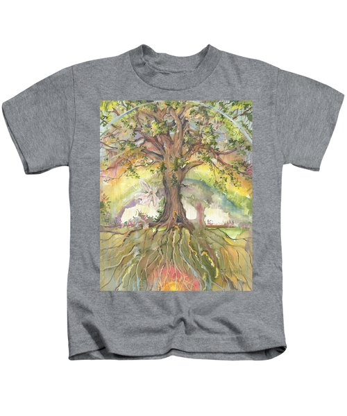 Eye See My Healing Tree Kids T-Shirt