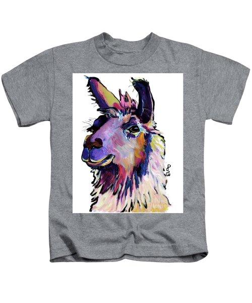 Fabio Kids T-Shirt by Pat Saunders-White