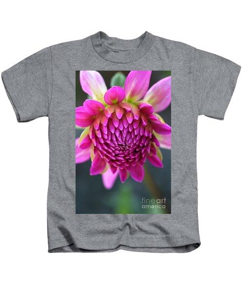 Face Of Dahlia Kids T-Shirt