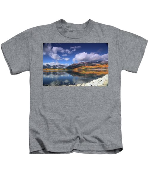 Fall At Twin Lakes Kids T-Shirt