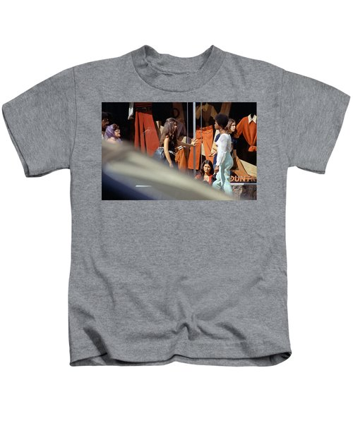 Fall Colors And Bus Riders Kids T-Shirt