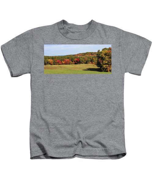 Fall Colors In Easthampton Kids T-Shirt