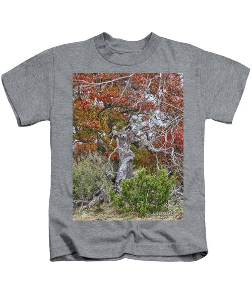 Fall Colors Once Again Kids T-Shirt