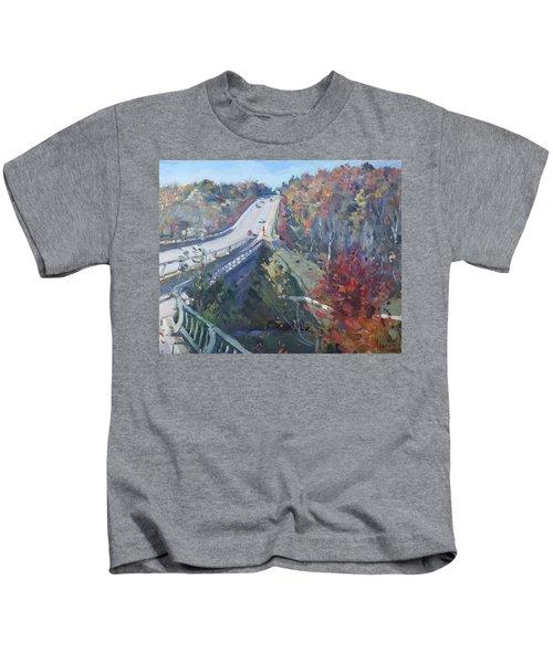 Fall In Silver Creek Georgetown  Kids T-Shirt
