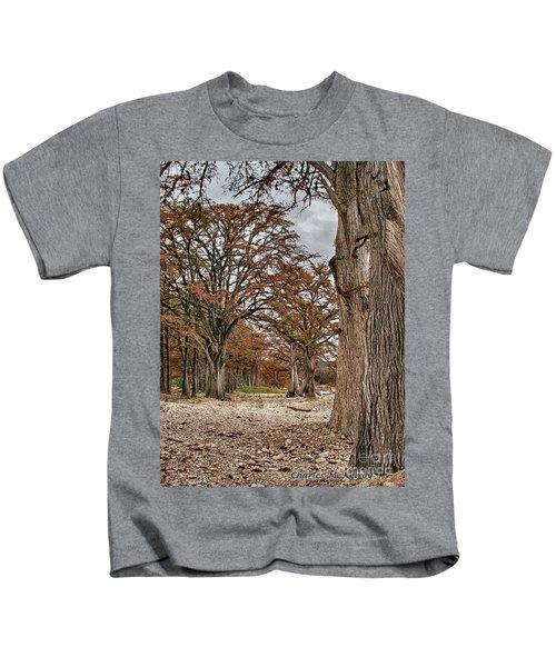Fall In Texas  Kids T-Shirt