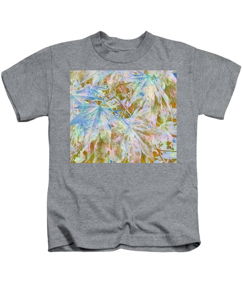 Fall Leaves #16 Kids T-Shirt