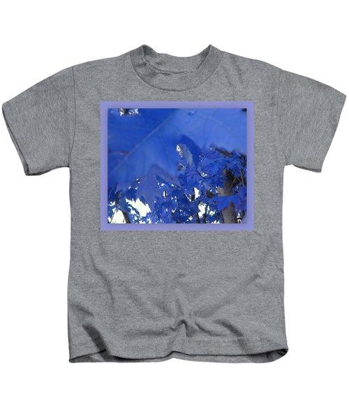 Fall Leaves #7 Kids T-Shirt