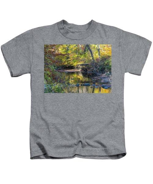 Fall Morning Kids T-Shirt