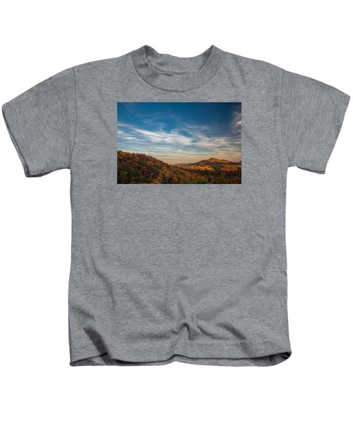 Fall Skies Kids T-Shirt
