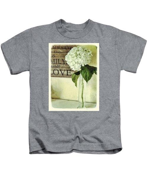 Family, Home, Love Kids T-Shirt