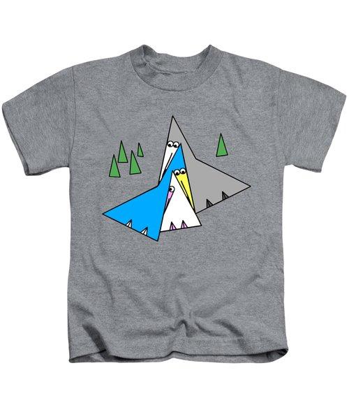Family Kids T-Shirt by Susan Eileen Evans