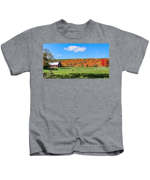 Farm View From Russellville Road Kids T-Shirt