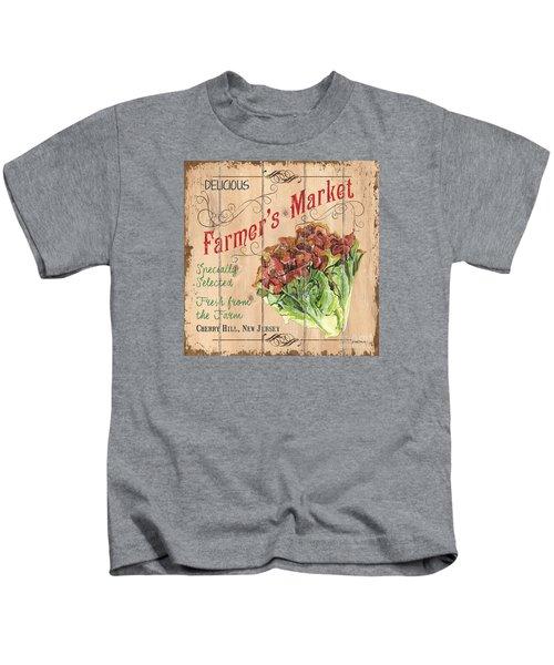 Farmer's Market Sign Kids T-Shirt