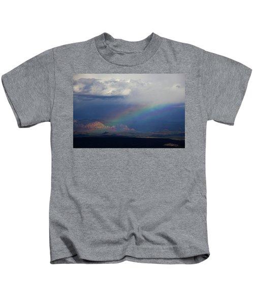 Fat Rainbow, Sedona Az Kids T-Shirt