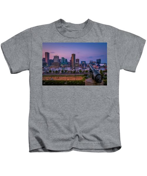 Federal Hill In Baltimore Maryland Kids T-Shirt