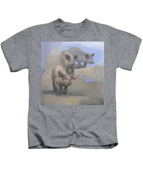 Feed Time Kids T-Shirt
