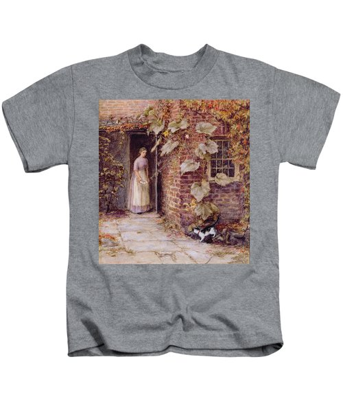 Feeding The Kitten Kids T-Shirt